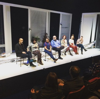 Opening night talkback with AI expert and Shakespeare scholar